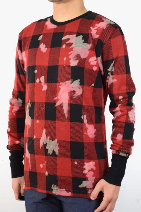 BAFFALO CHECK OUTLAST JERSEY【BLK×RED】【SENSE10月号P275掲載商品】