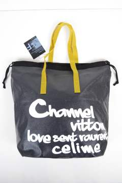 【ラスト1点】PVC SHOPING BAG (GRAFFITI PRINT)