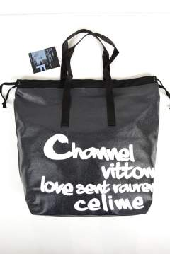 PVC SHOPING BAG (GRAFFITI PRINT)